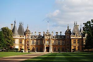 English: Waddesdon Manor, built between 1874 a...