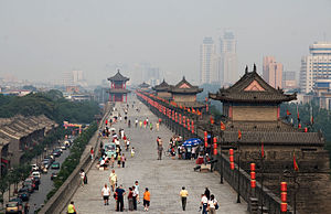 City Wall in Xi'an, China