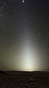 Zodiacal light  Wikipedia