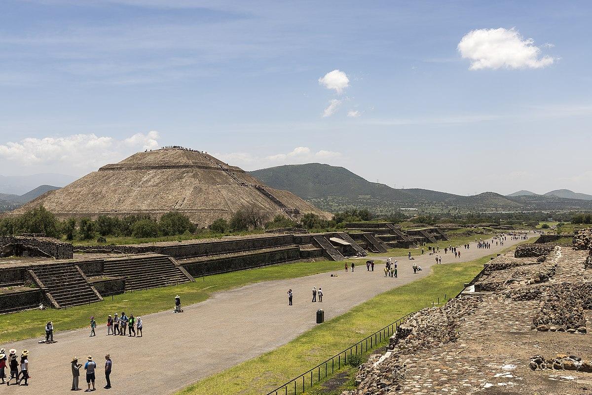 Sonnenpyramide Von Teotihuac 225 N Wikipedia