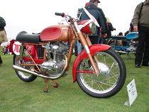 Ducati TS 175 uit 1959 met een koningsas om de nokkenas aan te drijven