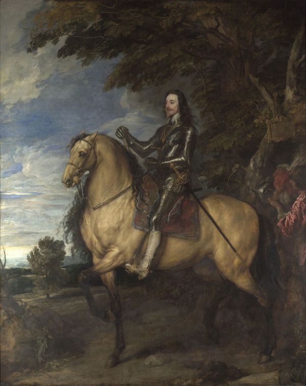 Anthony Van Dyck Equestrian Portrait of Charles I By