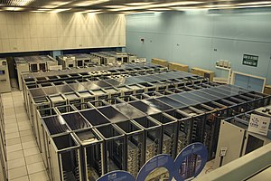 The CERN datacenter with World Wide W...