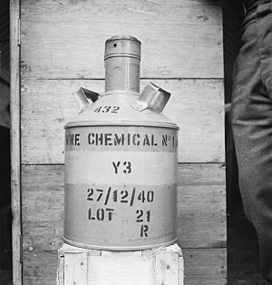 Chemical mine