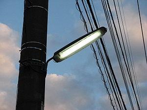 Crime prevention light in Japan
