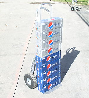 English: Pepsi Cola and Diet Pepsi soda delivery