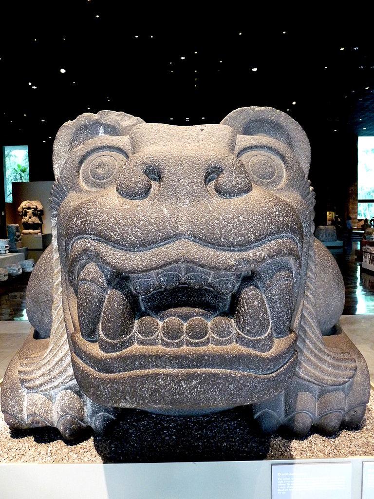 FileFileOcelotlCuauhxicalli de frente Museo Nacional de AntropologaJPG  Wikimedia Commons