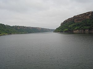 Gandhi_Sagar_Dam down stream in Mandsaur distr...