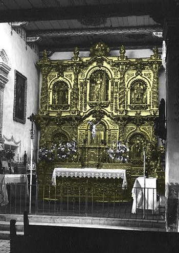 English: Sanctuary of Serra's Church at Missio...
