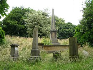 English: James Young Simpson grave, Warriston ...