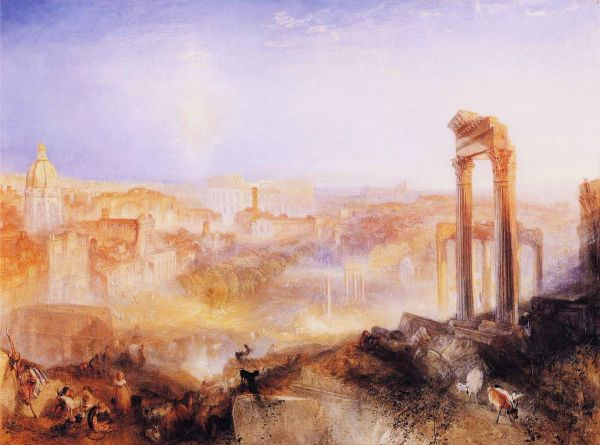 File Joseph Mallord William Turner - Modern Rome; Campo Wikimedia Commons
