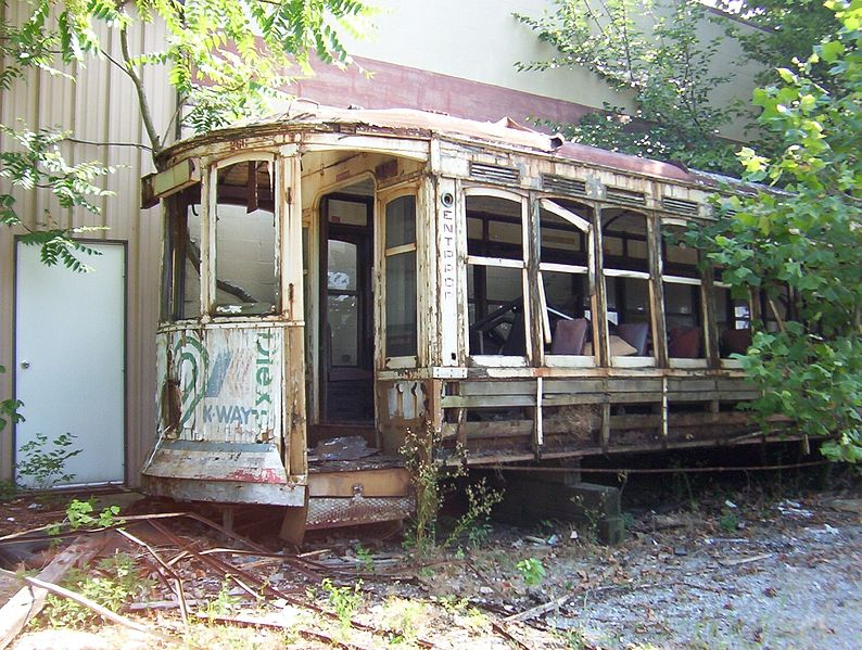 File:MATA trolley unrestored Memphis TN 4.jpg