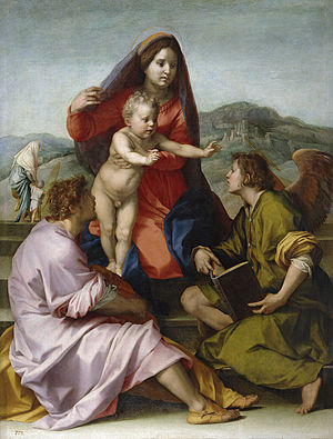 """Madonna della Scala"" (Virgin of the..."