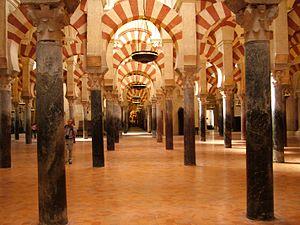 The 10th-century Grand Mosque of Cordoba (Anda...