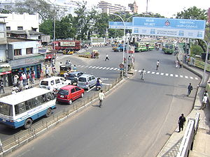 Traffic Signal at Poonamallee High Road, Park ...