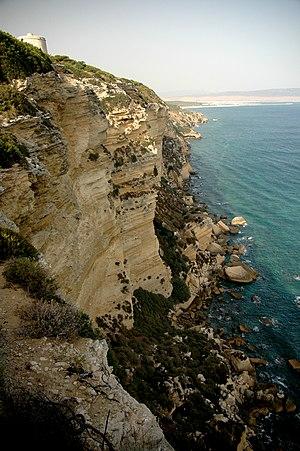 Barbate coast in Andalusia, Spain.