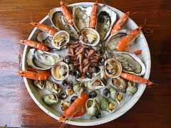 plateau de fruits de mer wikipedia