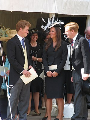 Prince Harry and Kate Middleton at the Garter ...