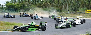 English: Racing action in Coimbatore. This is ...