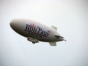 The Ron Paul blimp.