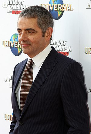 English: Rowan Atkinson at the premiere for Jo...