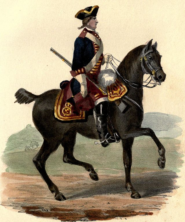 FileRoyal Horse Guards uniform 1758jpg  Wikimedia Commons