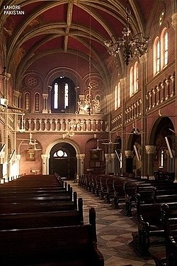 Sacred Heart Cathedral Lahore  Wikipedia