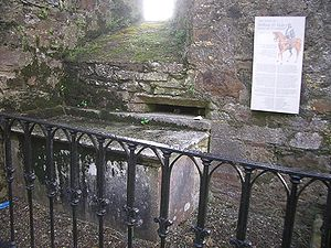 English: The tomb of Arthur O'Leary (1747-1773...