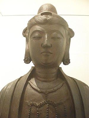 WLA vanda Ming Bodhisattva cast iron
