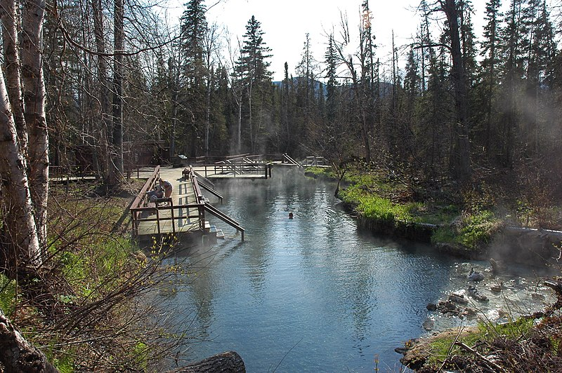 Liard River Hot Springs, British Columbia