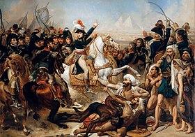 La Bataille Des Pyramides Huile Sur Toile De Antoine Jean