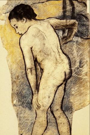 Breton Bather - Paul Gauguin