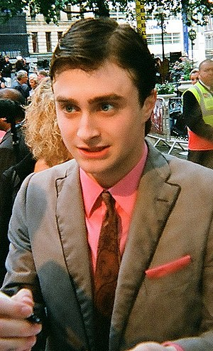 British actor Daniel Radcliffe at the London p...