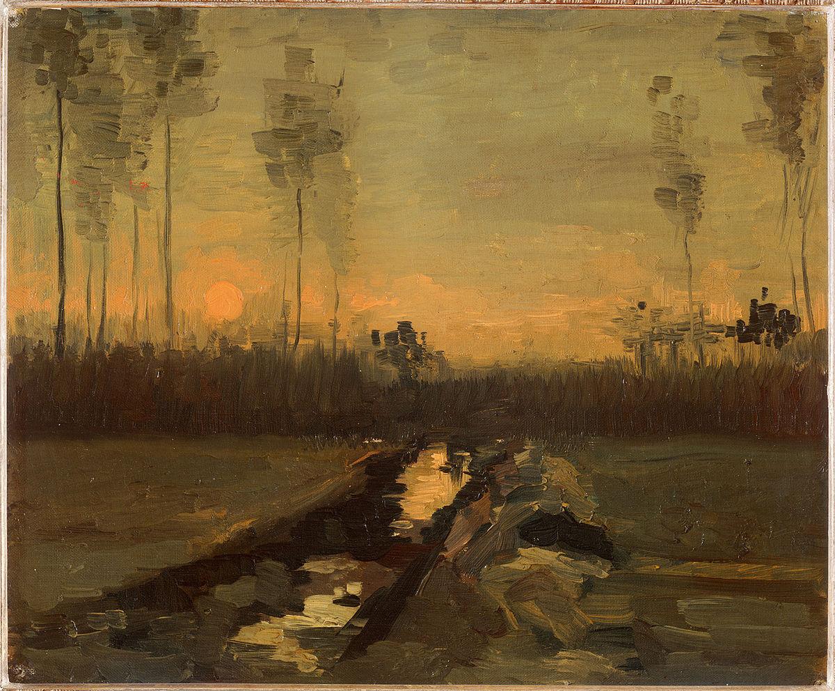 Paesaggio al tramonto  Wikipedia