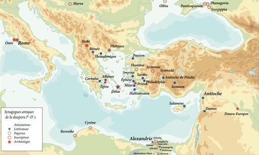 Image-Diaspora synagogues in Antiquity