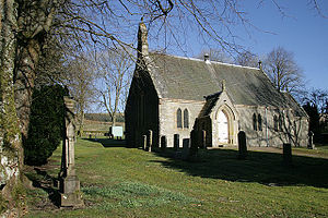 English: Liddesdale Parish Church A small coun...