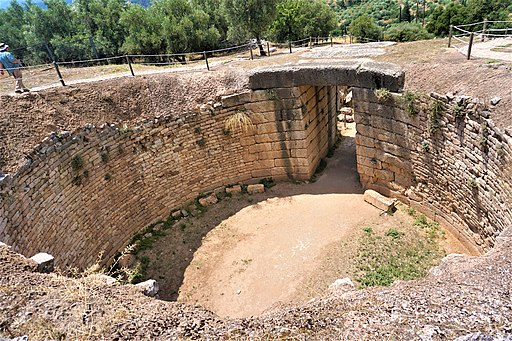 Lion Tholos Tomb at Mycenae by Joy of Museums