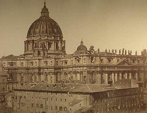 Robert MacPherson (1811-1872) - Rome - St. Pet...