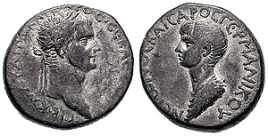 Claudius & Nero AR Tetradrachm of Antioch, Syr...