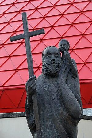 (, Germany) – Breitscheid – Saint Christopher ...