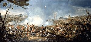Battle of Waterloo, painted by William Sadler ...