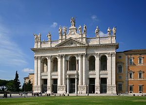 Basilica of St. John Lateran, cathedral of the...