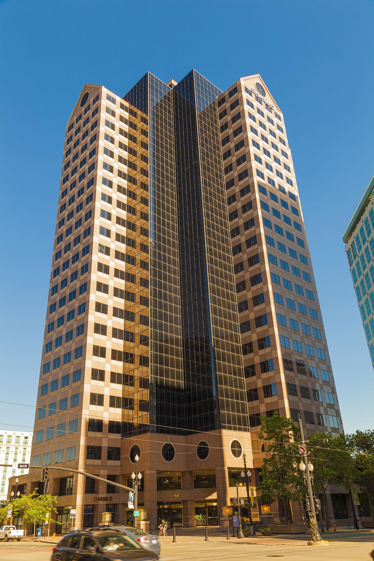 One Utah Center  Wikipedia