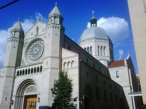 St. Joseph Cathedral in Wheeling, West Virginia