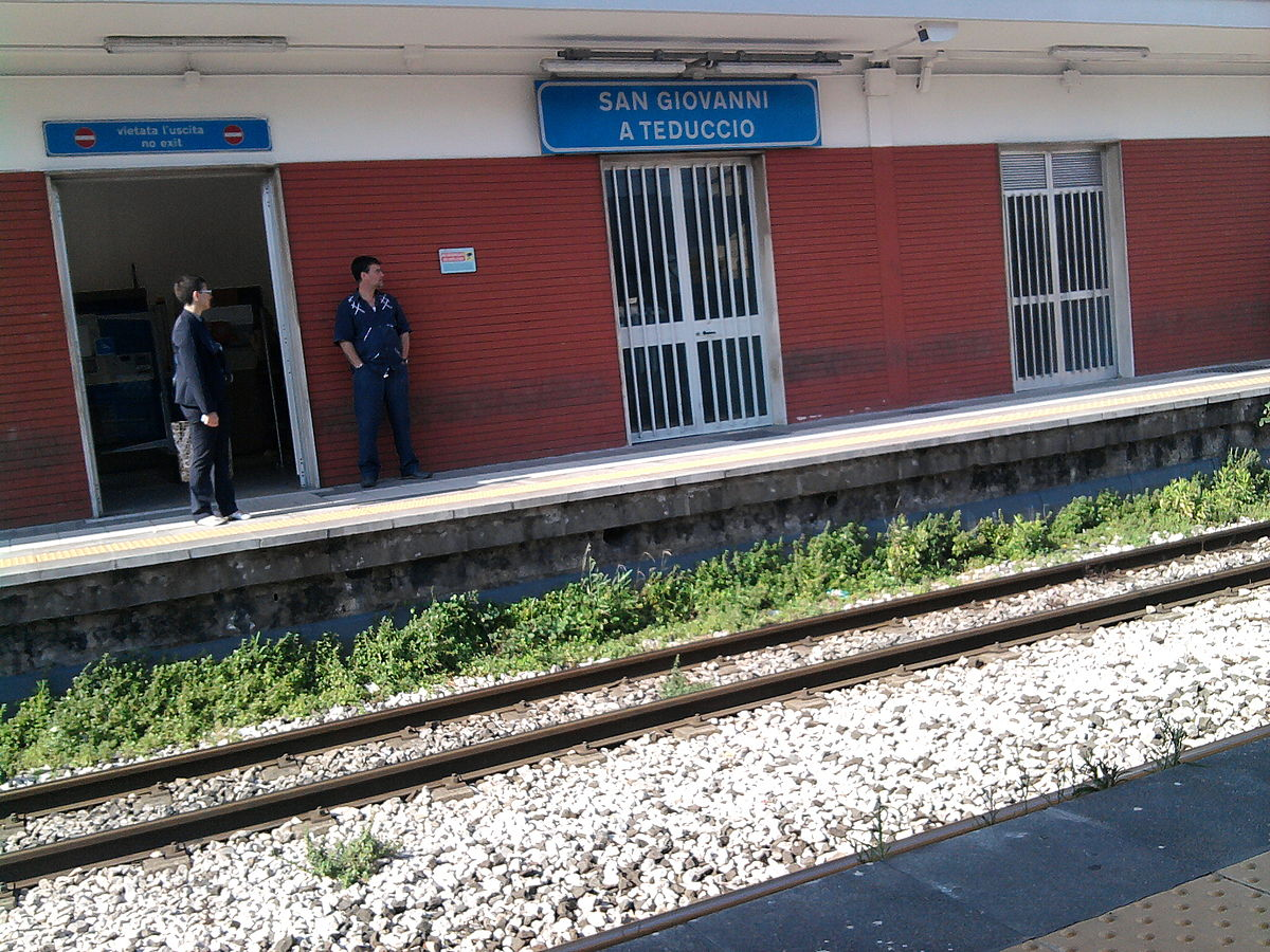 Stazione di San Giovanni a Teduccio  Wikipedia