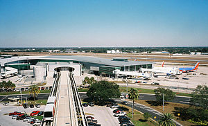 Airside C Terminal at Tampa International Airp...