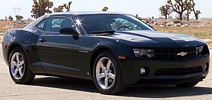 2010 Chevrolet Camaro 1LT photographed in USA....