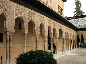 Patio de los Leones / Court of the Lions / Löw...