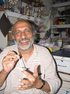 English: , a notable Indian toy inventor and p...