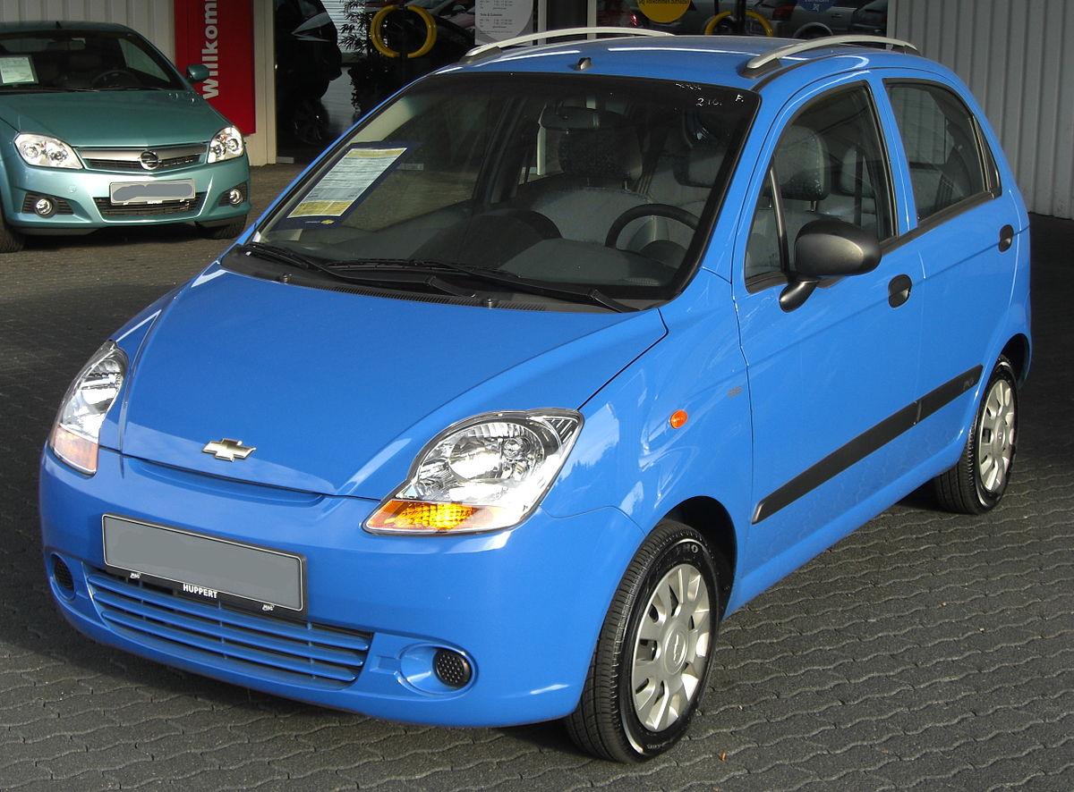 Chevrolet Matiz Wikipedia